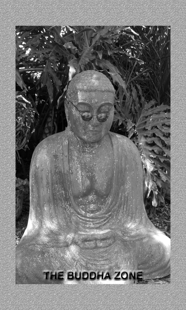 BUDDA 3 x 5 CS Version pattern Framed 2
