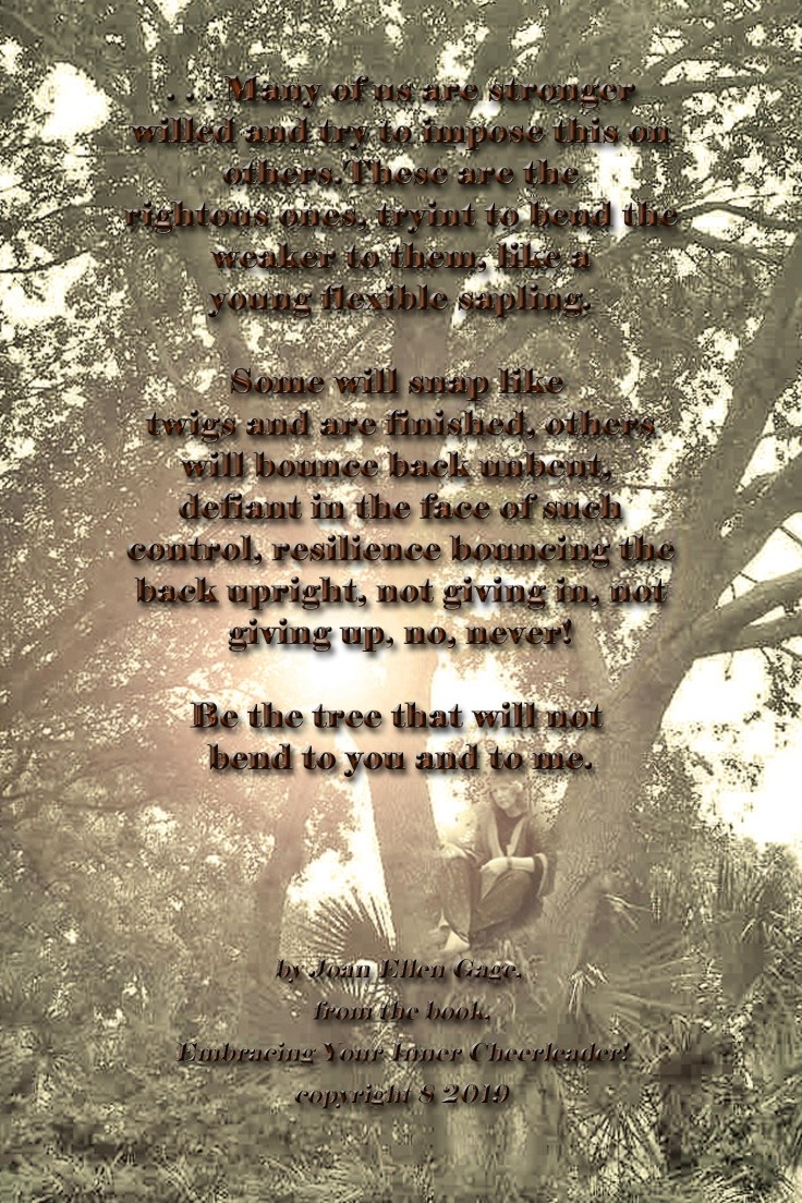 Be the Tree quote JEG